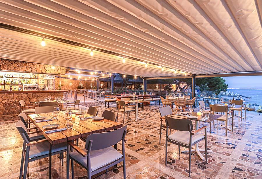 Cómo iluminar espacios al aire libre   Balneario Illetas